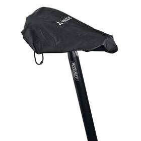 VAUDE Regenschutz für Sättel black